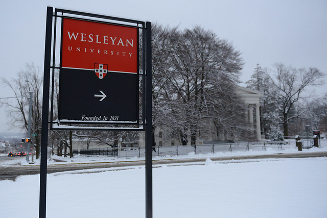 Winter at Wesleyan 2013