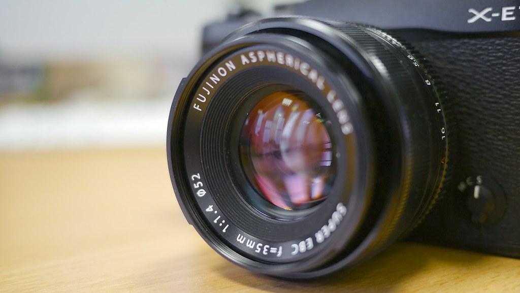 Fuji X-E1 Fujinon XF 35mm f/1.4 R