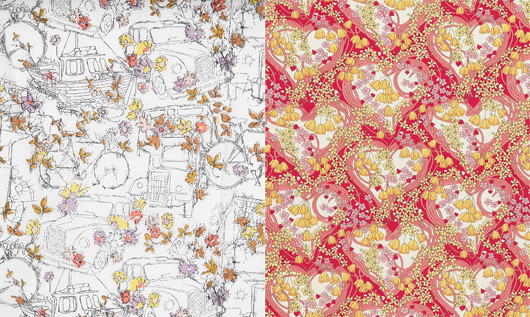 Liberty London New Season Flower Show Fabrics