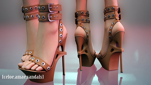 Celoe-Amae Sandals!