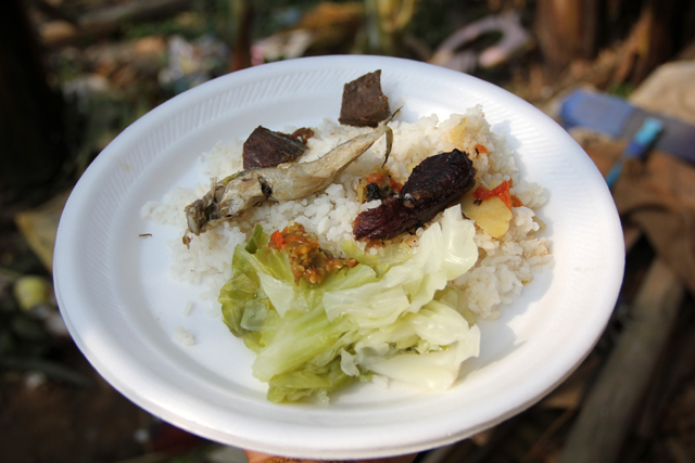 Nagaland Food - Boiled Vegetables