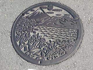 マンホール 沼津市 富士山
