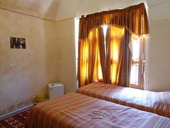 Quarto twin do Silk Road Hotel em Yazd