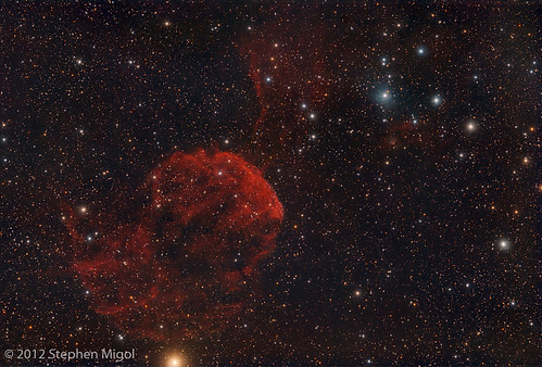 IC 443 Jellyfish Nebula by S Migol