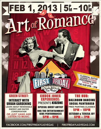 Looking forward to the Art of Romance in Las Vegas This Friday @FirstFridayLV #FirstFridayLV