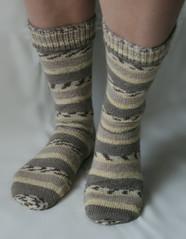 Biathlon-Socken
