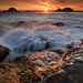 Sutro Baths Waterfall to the Sea Pt. 2 by Alan Chan Photography