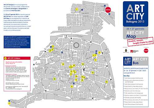 art city map