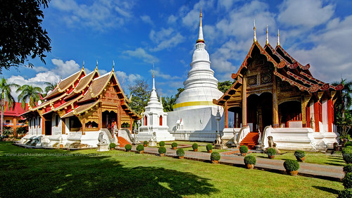 Postcard from Wat Phra Singh / Chiang Mai / Thailand | by I Prahin | www.southeastasia-images.com