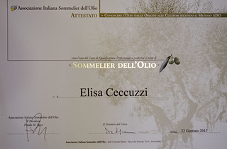diploma sommelier dell'olio