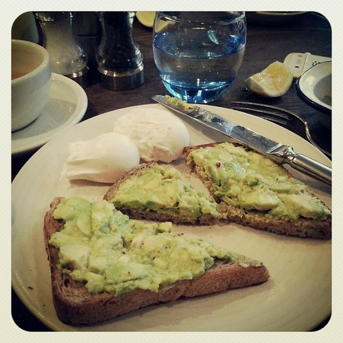 Avocado Toast Riding House cafe