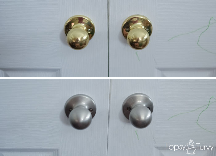 Change Your Own Door Knobs French Closet