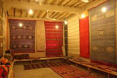 Loja de tapetes em Merzouga no Deserto do Saara