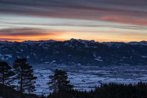 schnee trees winter mountain snow mountains alps tree berg night sunrise landscape austria schweiz switzerland österreich nikon suisse berge alpen viewpoint landschaft bäume sonnenaufgang baum ausblick stanton appenzell innerrhoden mygearandme mygearandmepremium d800e pwwinter