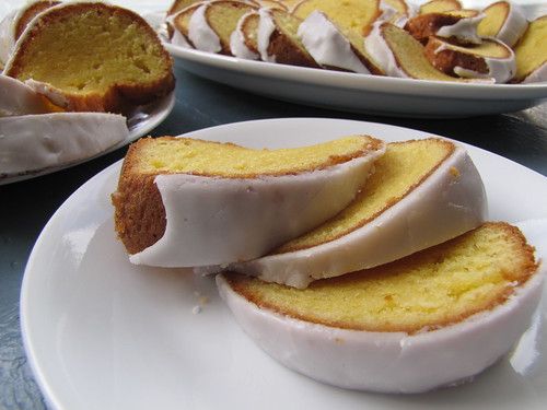 Lemon Loaf Slices