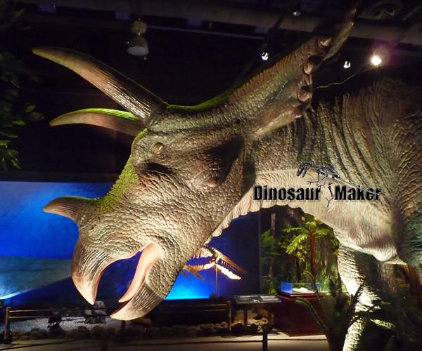 Large Animatronic Dinosaur Triceratops