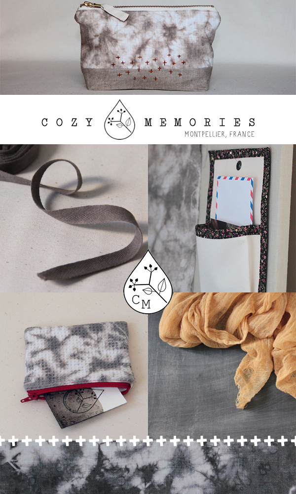 Eco-friendly handmade, one-of-a-kind homewares and accessories from Cozy Memories