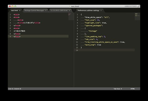 Sublime Text2