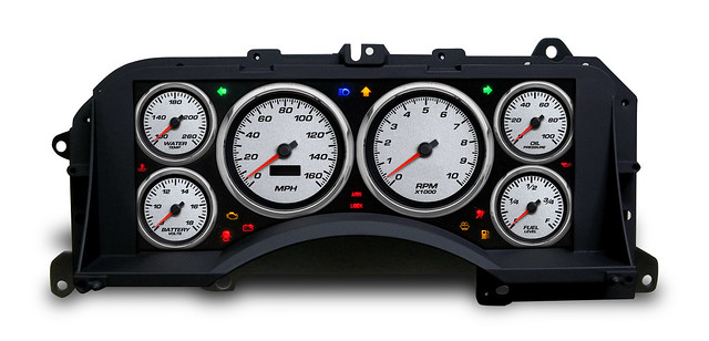 fox mustang performance gauge cluster 87 93 from nvu. Black Bedroom Furniture Sets. Home Design Ideas