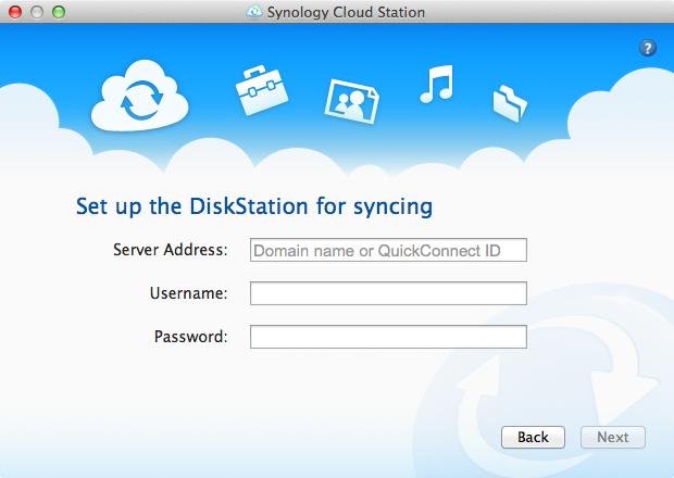 Cloud Station Client - Step 2