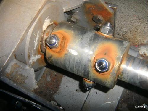 Corrosie aan rvs onderdelen