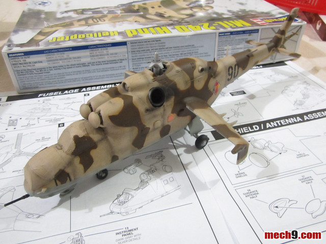 1/48 Mil-24d Hind by Revell