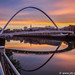 Sunset at the river Tyne by JdJ Photography (www.jdj-photography.nl)