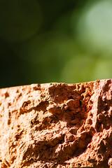 Broken brick