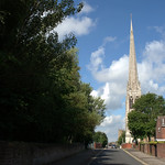 Towards St Walburges Church, Preston