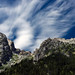 Clouds moving over the Tetons by Karen McQuilkin