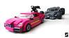 Lego Suicide Squad Batmobile Joker Chase