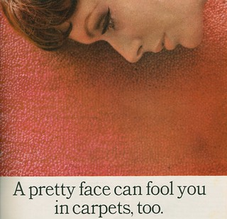 a pretty face in Lees carpet