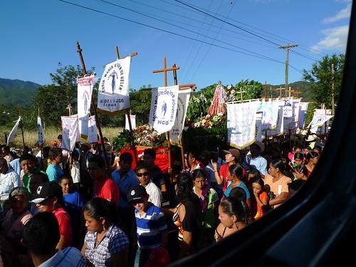 Procession near Jocotán, Guatemala
