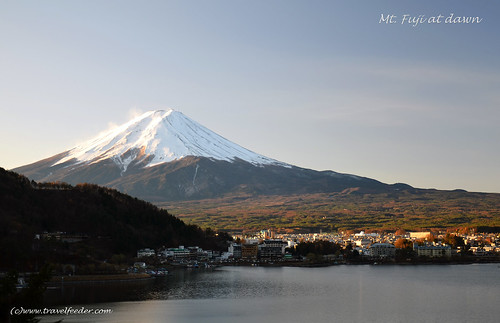 Mt Fuji at dawn
