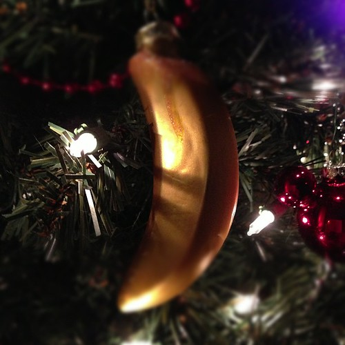 Banana Ornament!