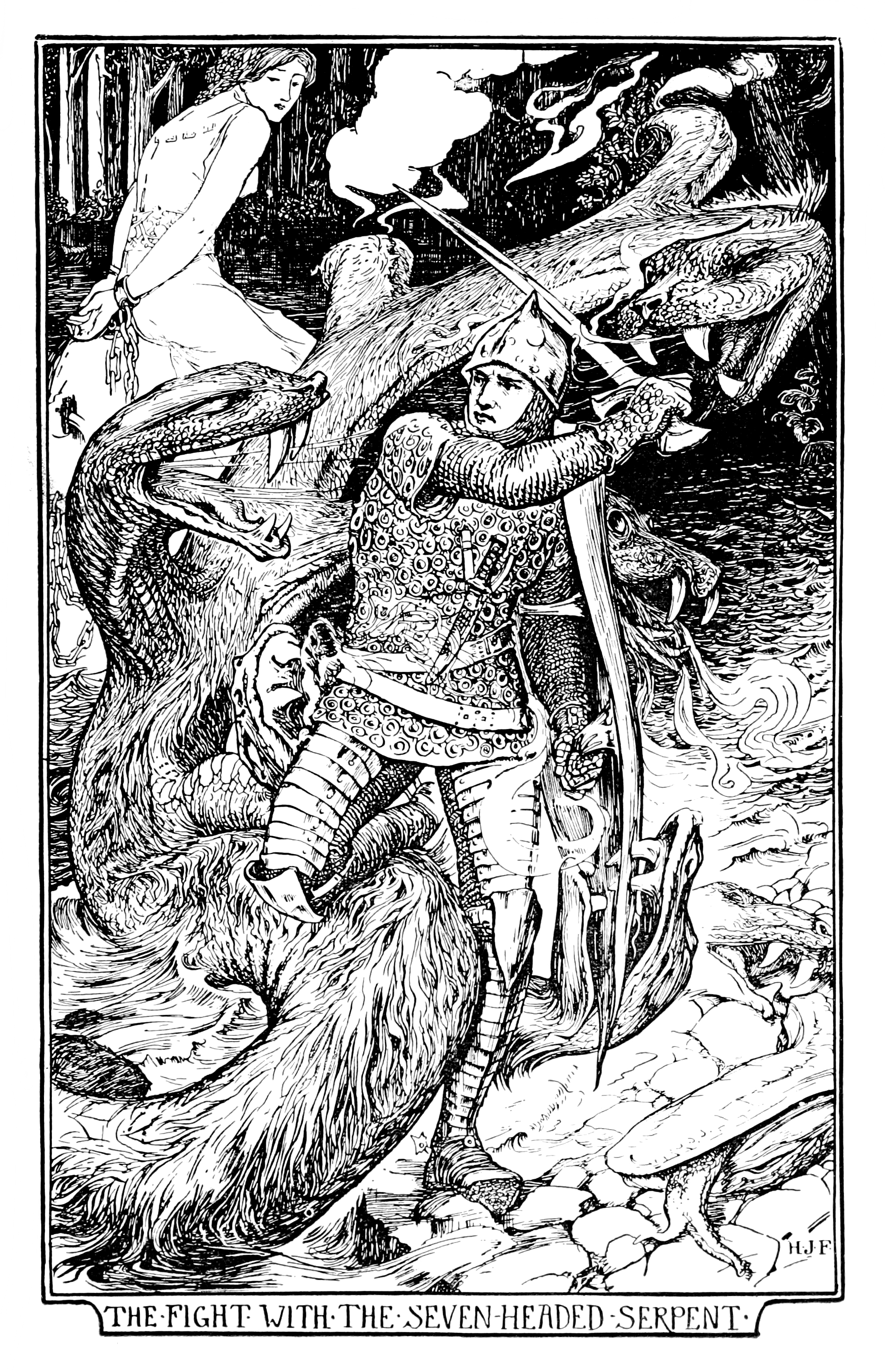 Henry Justice Ford - The pink fairy book, edited by Andrew Lang, 1897 (illustration 12)