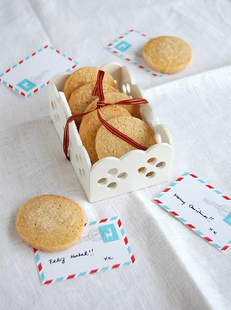 Alsatian Christmas cookies / Biscoitos de Natal da Alsácia