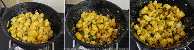 How to make potato fry - Step3
