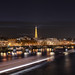 Winter in Paris / Seine and Eiffel Tower by Carlos Pardo Photography