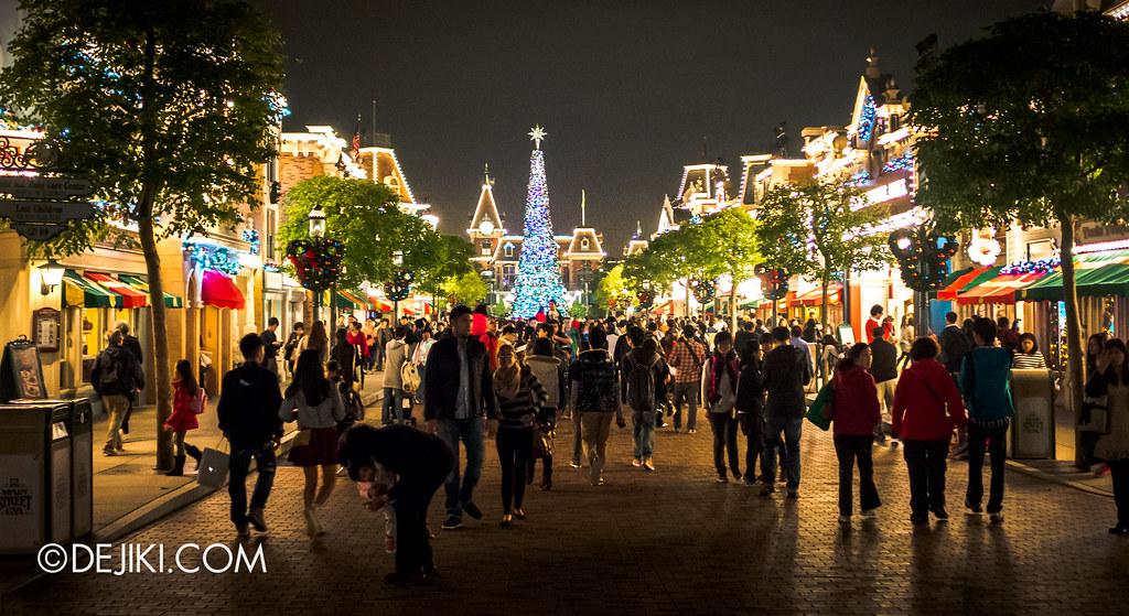 Main street, night