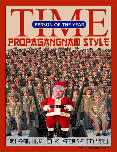 PERSON OF THE YEAR (TIME READER'S POLL) by Colonel Flick/WilliamBanzai7