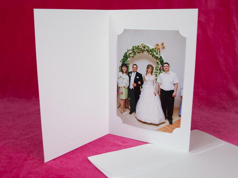 Cardul de mulțumire - o noua tendințã în materie de nunți.   > Foto din galeria `Principala`