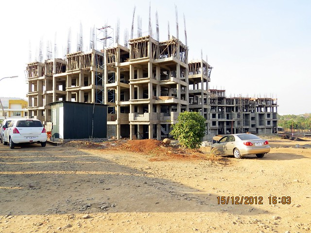 Residential Towers - 2 BHK Flats - Mont Vert Vesta, Urawade Pirangut, Goan Fiesta 15th & 16th December 2012