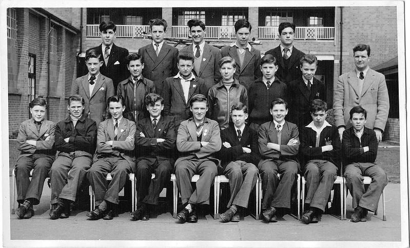 Chiswick: Staveley Road School 1952-53