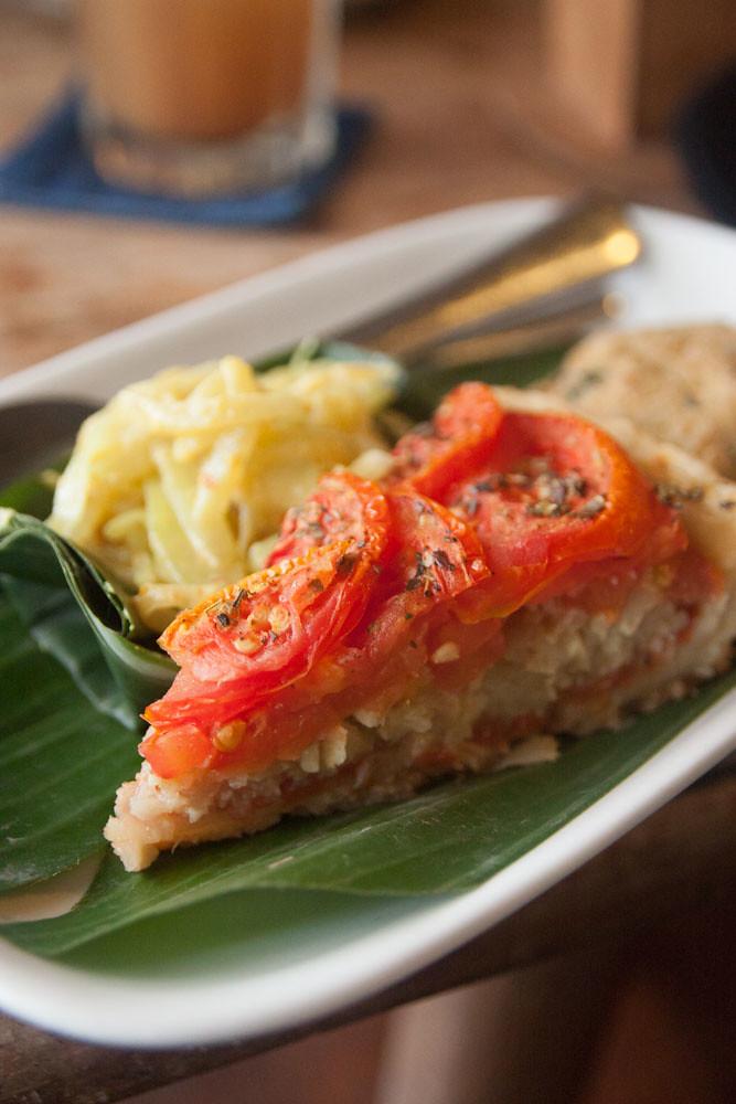 Quiche from Warung Sopa, Ubud, Bali
