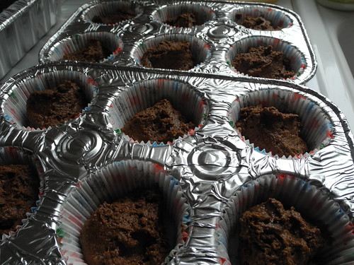 Chocolate Gingerbread Muffins
