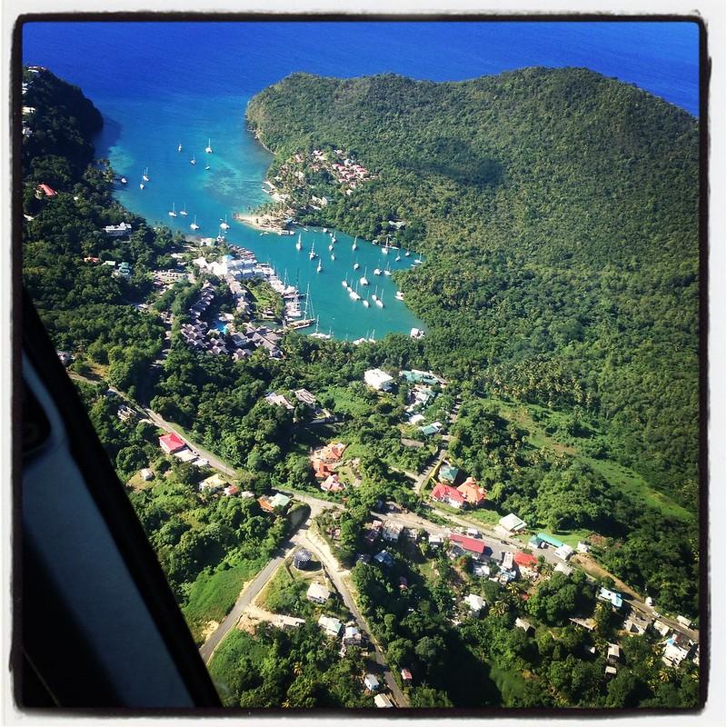 Marigot Bay St Lucia
