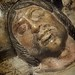 Extreme Closeup of a Sepulchral Effigy of a Knight Spain 1525-1540 CE Alabaster with traces of polychromy and gilding