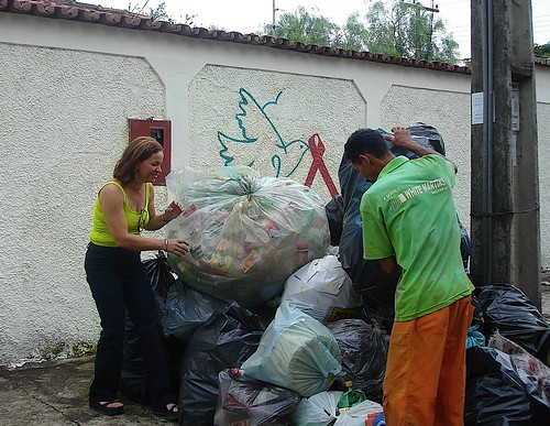 AAVE has involved its service users in recycling since 2000