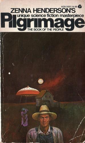 Pilgrimage by Zenna Henderson. Avon 1963. Cover artist Hector Garrido